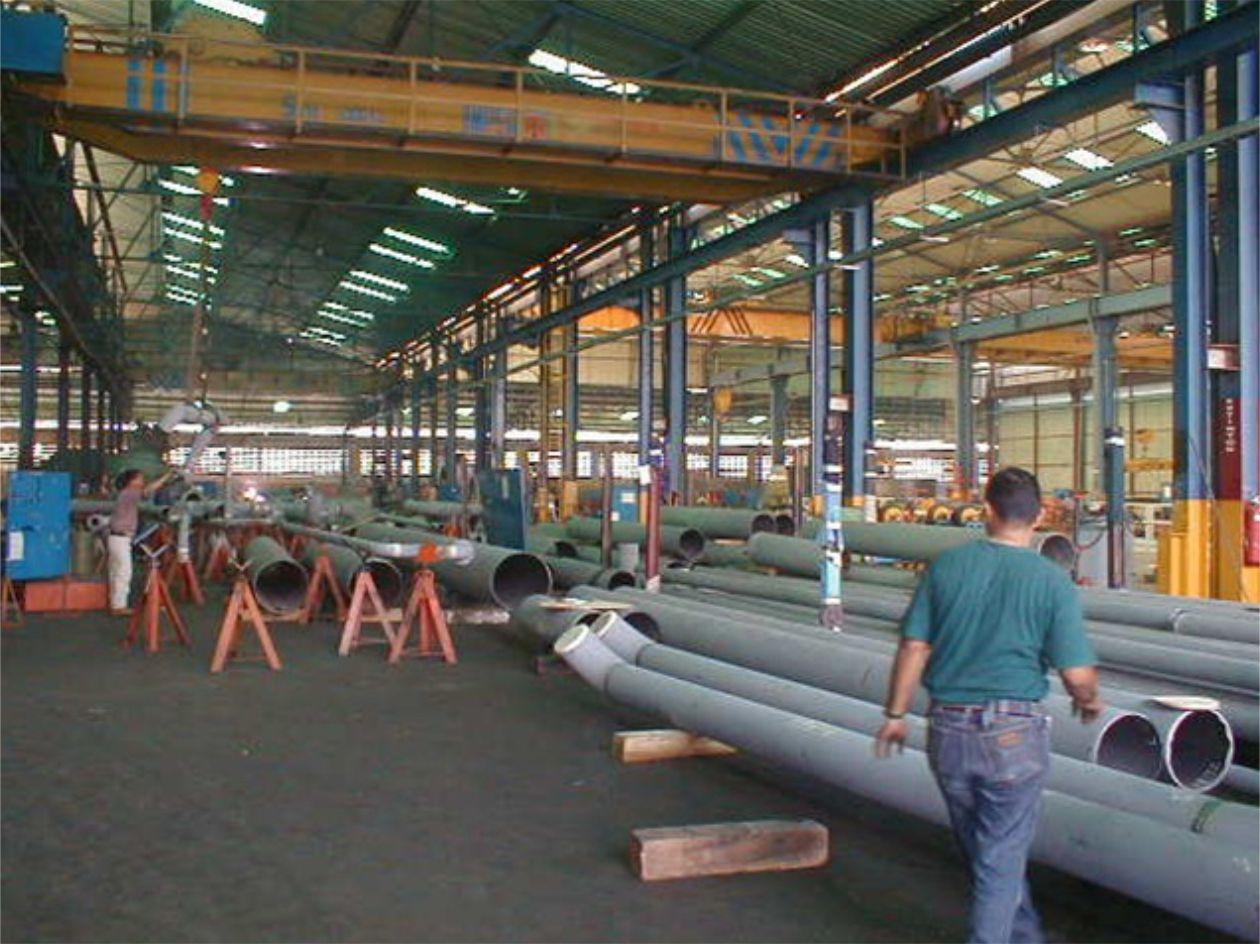 Prefabricación de tuberías - trimeca - 1.1