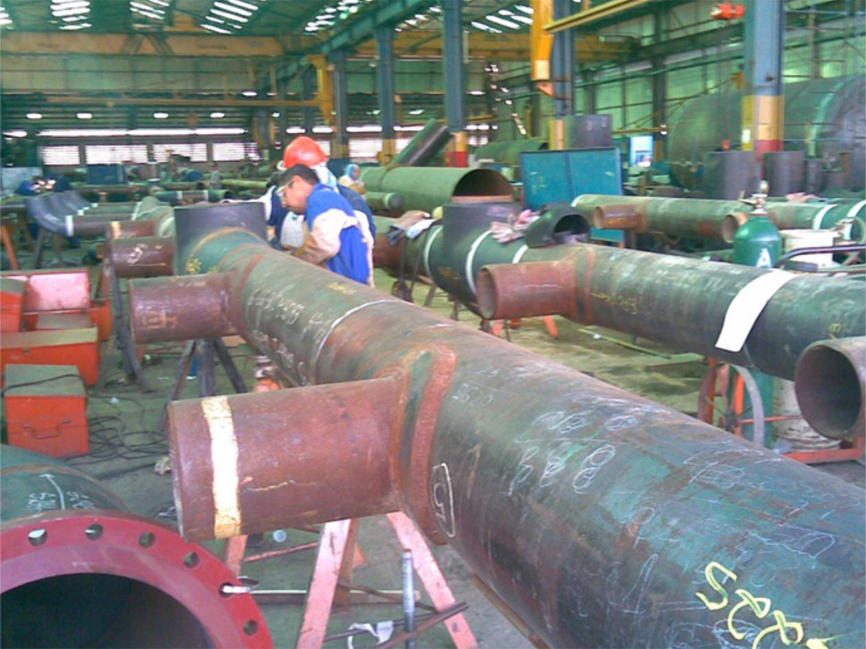 Prefabricación de tuberías - trimeca - 6.1