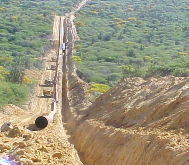 Proyecto Construcción Gasoducto 26