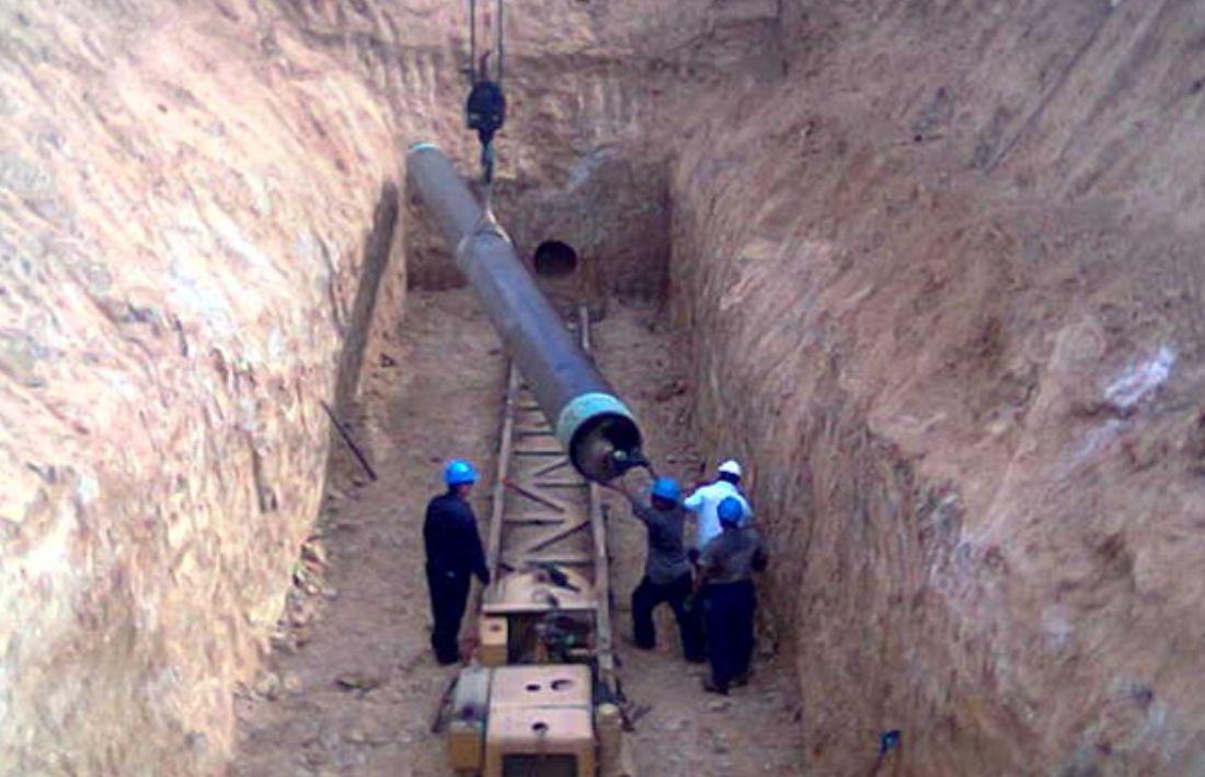 Construcción Gasoducto 26 - 4
