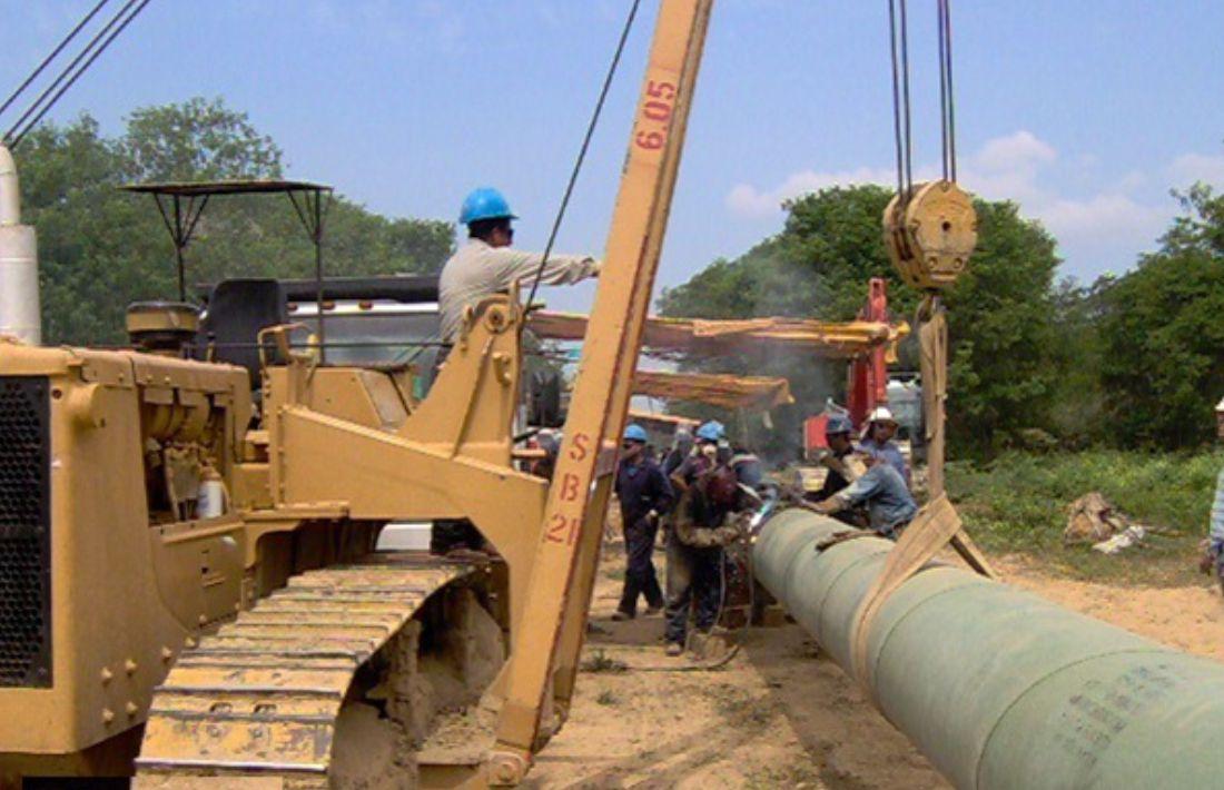 Construcción Gasoducto 26 - 5