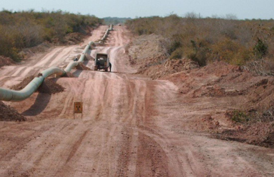 Construcción Gasoducto 26 - 8