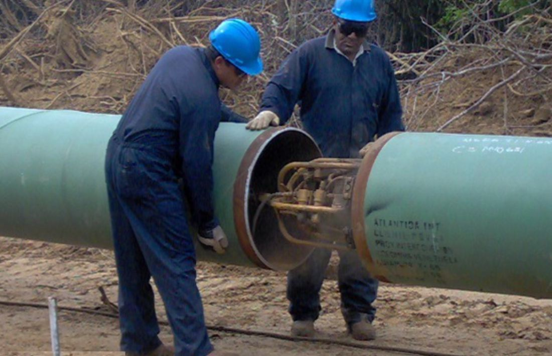 Construcción Gasoducto 26 - 9