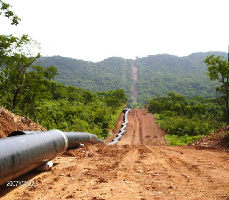 Proyecto Construcción y Puesta en Servicio de 32 Km de Gasoducto de Diámetro 36