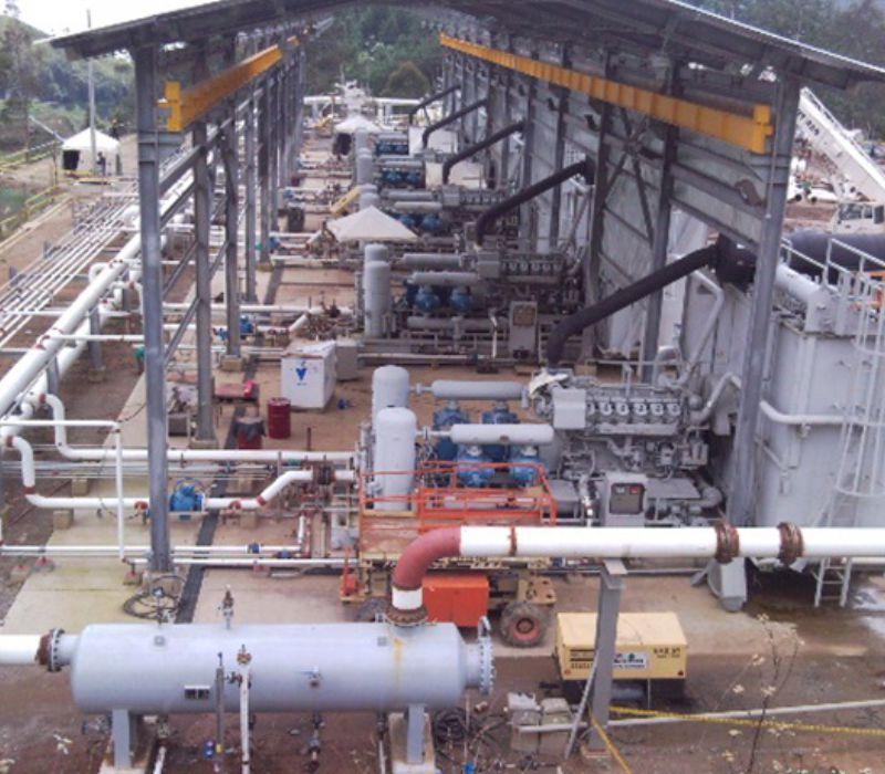 Proyecto IPC Ampliación de Estaciones Compresoras y Construcción de las Adecuaciones requeridas en el Centro Operacional de Gas de Barrancabermeja