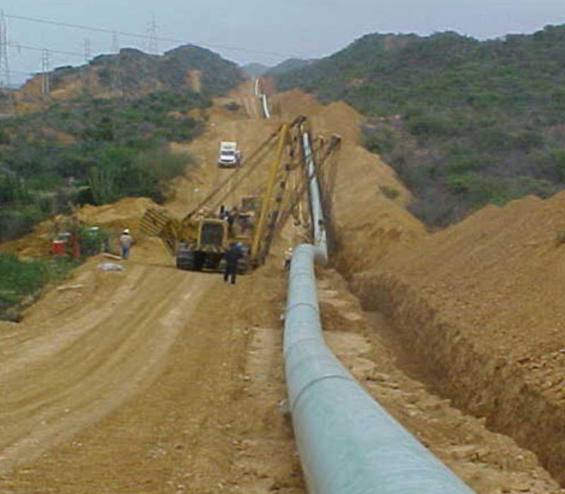 Proyecto Interconexión de Sistemas de Transporte de Gas Centro-Oriente/Occidente (ICO).