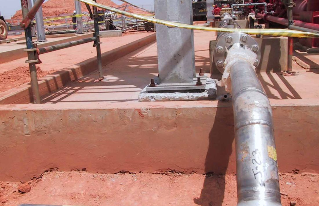 Lasmo Dacion Field Development Project Main Mechanical Work Package - 10