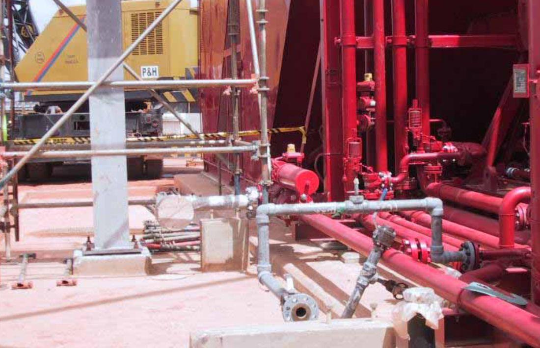 Lasmo Dacion Field Development Project Main Mechanical Work Package - 7